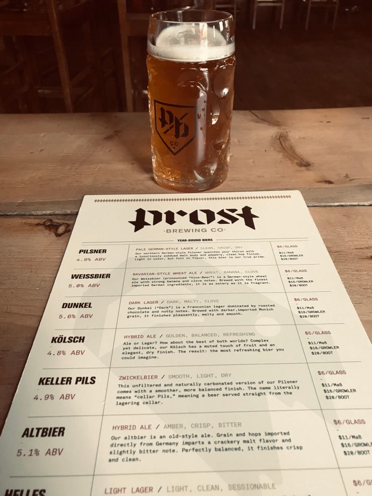 Prost Brewing 1